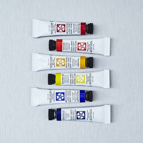 Daniel Smith Tube Essentials Watercolour 5ml Set of 6 | Cass Art