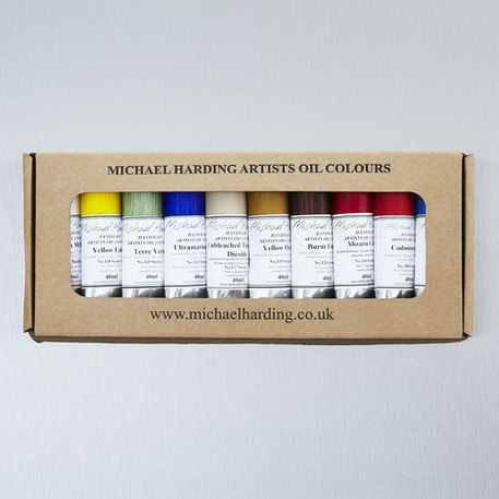 Michael Harding Plein Air Painter 40ml Set of 10 | Cass Art