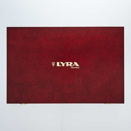Lyra Rembrandt Polycolour Prestige Wooden Box Set | Cass Art