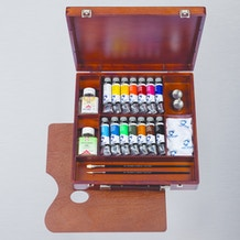 Van Gogh Oil Colour Wooden Box Inspiration Set