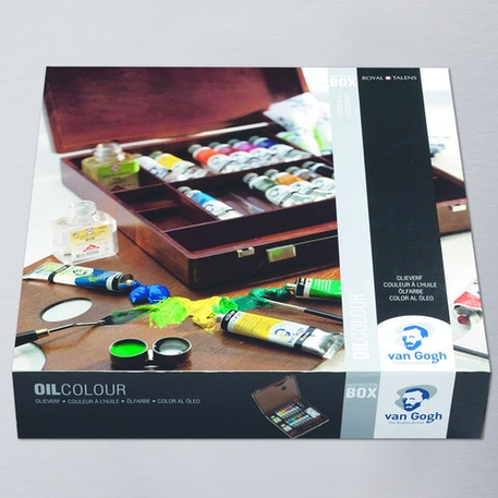 Van Gogh Oil Colour Wooden Box Inspiration Set | Cass Art