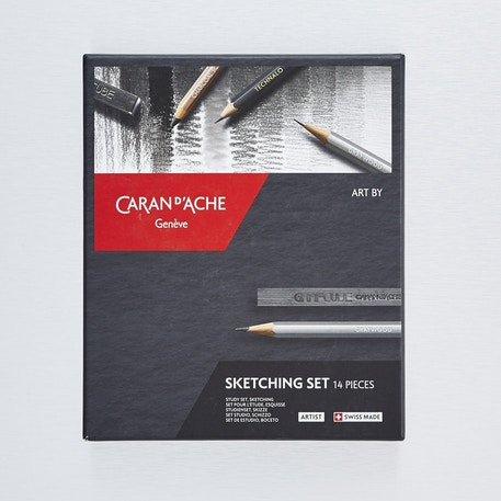 Caran D'ache Sketching Set of 14 | Cass Art