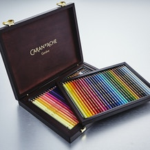 Caran D'ache Supracolor Soft & Pablo Colour Pencil Wooden Gift Box - Set of 60
