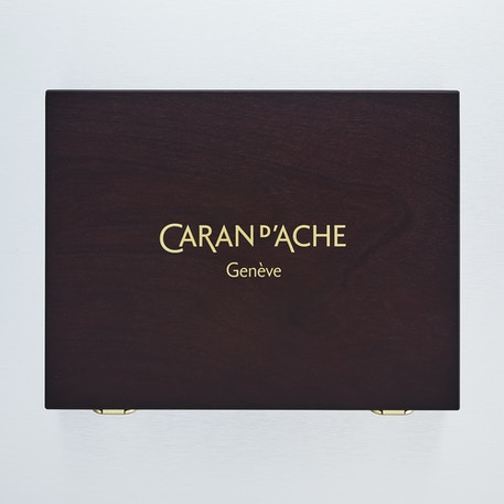 Caran D'ache Supracolor Soft & Pablo Colour Pencil Wooden Gift Box - Set of 60 | Cass Art