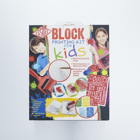 Essdee Block Printing Kit for Kids | Cass Art