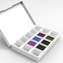 Daniel Smith Colours of Inspiration Watercolour Half Pan Set of 6