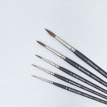Pro Arte Sable Brush Cass Exclusive Set of 5