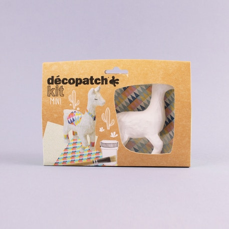Decopatch Mini Kit Llama | Cass Art