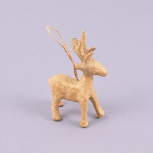 Decopatch Papier Mache Reindeer Hanging Ornament