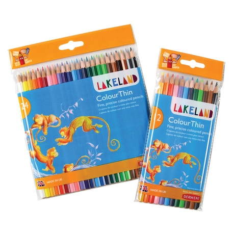 Derwent Lakeland Colourthin Set of 24 | Cass Art