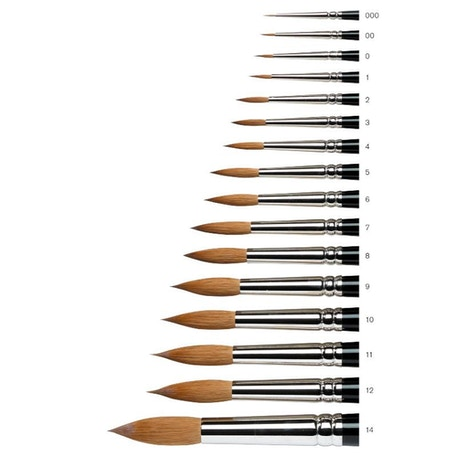 Winsor & Newton Series 7 Kolinsky Sable Watercolour Brush | Cass Art