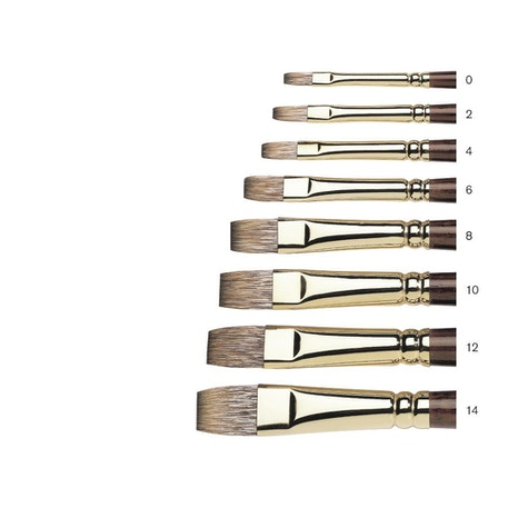 Winsor & Newton Monarch Flat Brush | Cass Art