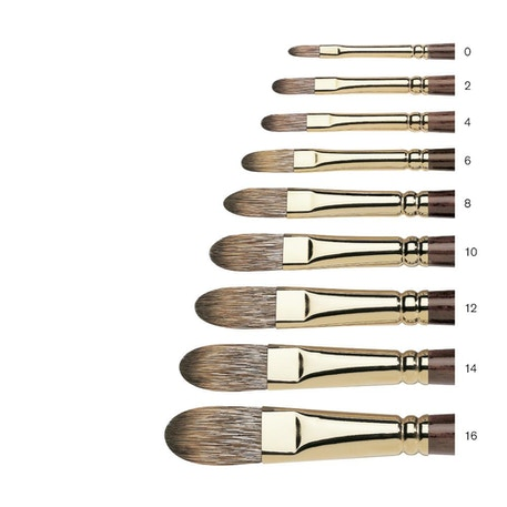 Winsor & Newton Monarch Filbert Brush | Cass Art