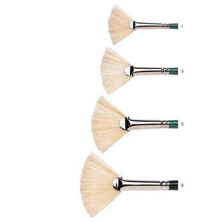 Winsor & Newton Winton Long Handle Fan Brush | Cass Art