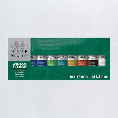 Winsor & Newton Winton Tube Assorted Colours 37ml Set of 10 | Oil Paint | Cass Art