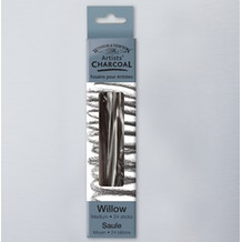 Winsor & Newton Willow Charcoal Medium Sticks Set of 24