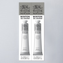 Winsor & Newton Winton Oil Colour 200ml Double Pack - Cass Art Exclusive
