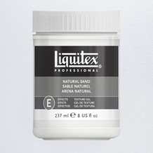 Liquitex Texture Gel Medium 237ml Natural Sand