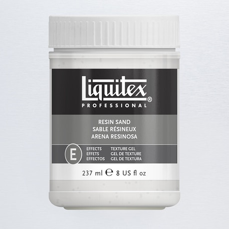 Liquitex Texture Gel Medium 237ml Resin Sand | Cass Art