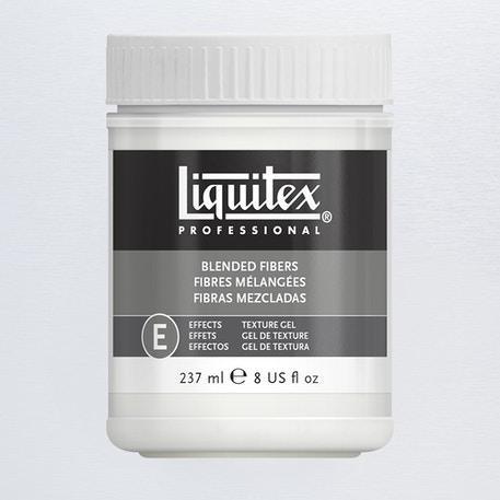 Liquitex Texture Gel Medium 237ml Blended Fibers | Cass Art
