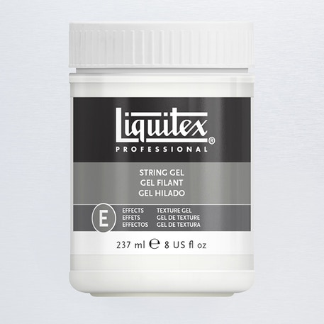 Liquitex Texture Gel Medium 237ml String Gel | Cass Art