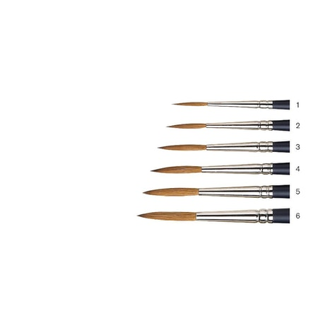 Winsor & Newton Artists' Watercolour Short Handle Rigger Brush | Cass Art