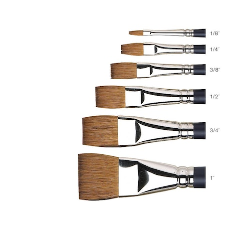 Winsor & Newton Professional Watercolour Sable One Stroke Brush | Cass Art