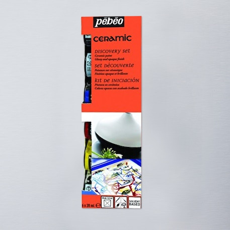 Pebeo Ceramic Discovery Collection 20ml Set of 6 | Cass Art