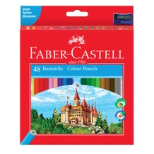 Faber Castell Classic Pencils Assorted Colours Set of 48
