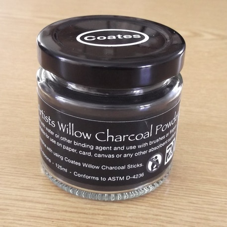 Coates Charcoal powder 125ml | Cass Art