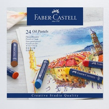 Faber-Castell Oil Pastels Set of 24