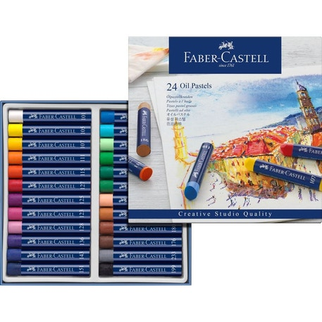 Faber-Castell Oil Pastels Set of 24 | Cass Art