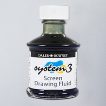 Daler Rowney System 3 Screen Drawing Fluid 75ml