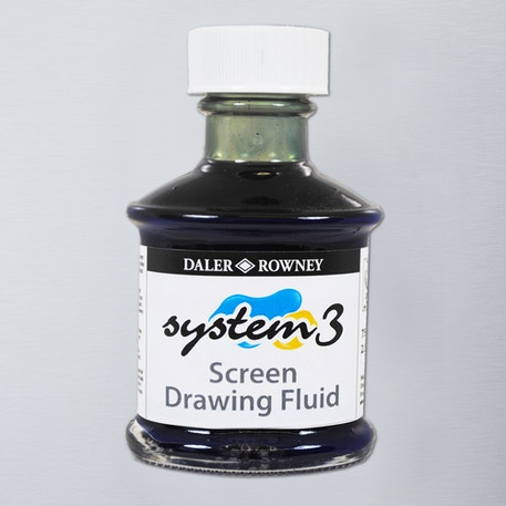 Daler Rowney System 3 Screen Drawing Fluid 75ml | Cass Art