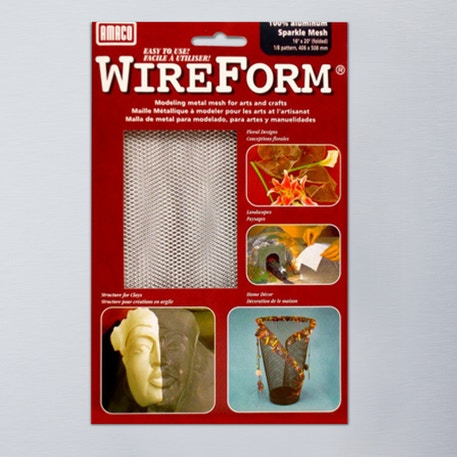 Wireform 50005E Sparkle Mesh Aluminium Folded Sheet | Wire Mesh | Cass Art