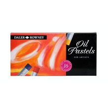 Daler Rowney Oil Pastel Set of 16