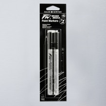 Daler Rowney FW Small Hard Point Empty Markers + 2 Nibs 1mm Set of 2