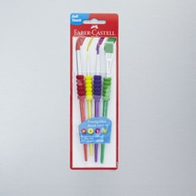 Faber Castell Brush Assortment Pack of 4