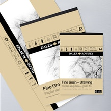 Daler Rowney Fine Grain Drawing Pad 200gsm 30 Sheets