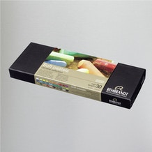 Rembrandt Soft Pastels Half Sticks Set of 30