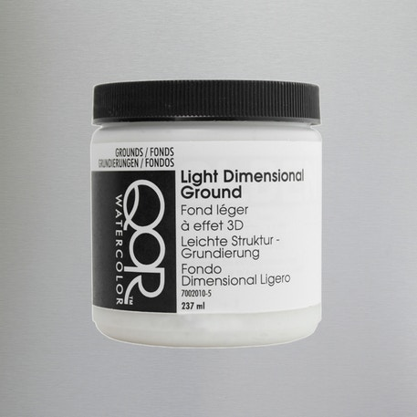 QoR Light Watercolour Ground 237ml | Cass Art