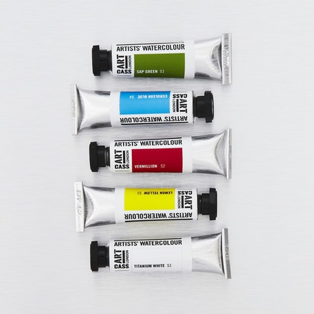 Cass Art Professional Artists' Watercolour Tubes 10ml | Cass Art