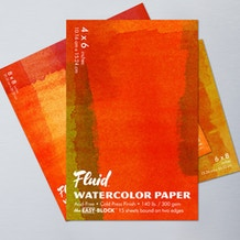 Fluid Watercolour Easy Block Cold Pressed 300gsm