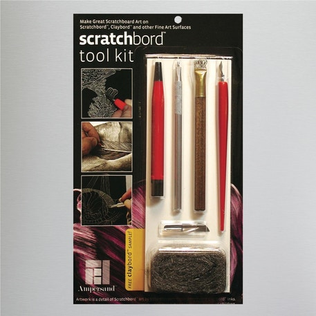 Ampersand Scratchbord Tool Kit Set of 6 | Cass Art