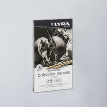 Lyra Rembrandt Polycolor Tin Grey Tones Set of 12