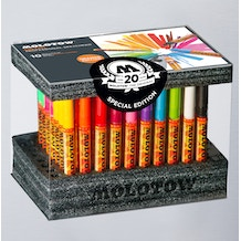 Molotow ONE4ALL  Acrylic Marker Display Set Complete Set of 70