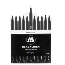Molotow Blackliner Complete Set of 11