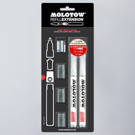 Molotow Refill Extension Starter Set | Cass Art
