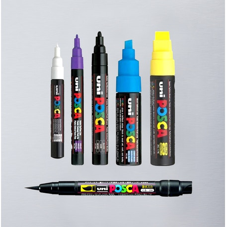 Posca Paint Pen Waterbased Marker | Cass Art