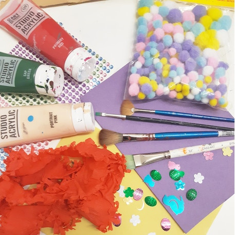 20th April, 10:30-11:30am, Mixed Media Easter Cards Workshop at Cass Art Liverpool